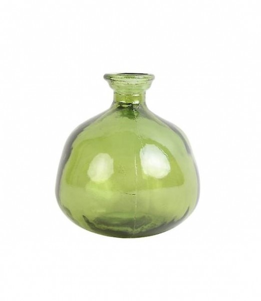 Vase Glasvase Dekovase Grün Modern Light & Living 16 x 18 cm Pinto Glas